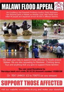 MALAWI FLOODS APPEAL